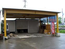 鉄骨カーポート 福井ミニハウス