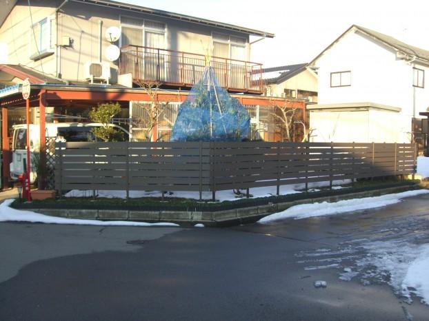 フェンス Bフェンス 三富 丸岡町