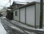 折板カーポート 車庫 福井市