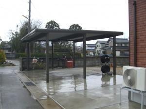 折板カーポート TOEX 坂井市