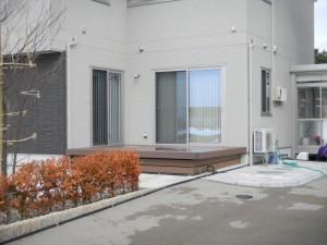 ウッドデッキ 三協立山アルミ 福井市