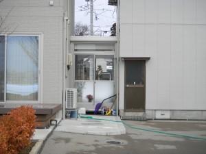 渡り廊下 サンルーム ykkap 福井市