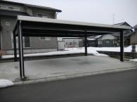 鉄骨カーポート 丸岡町