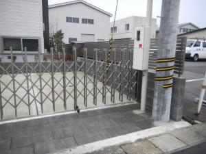 伸縮ゲート 三協立山アルミ 福井市