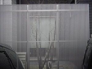 大型フェンス 三協立山アルミ 福井市