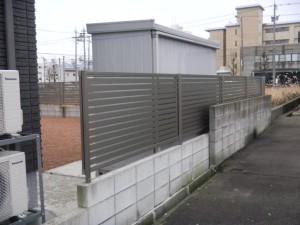 フェンス 三協立山アルミ 福井市