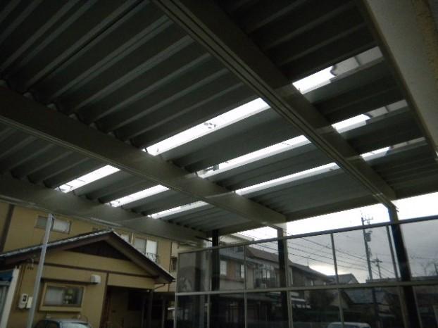 カーポート 光差し込む TOEX 2台用 福井市