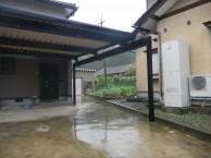 折板カーポート TOEX 特殊 永平寺町