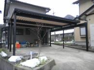 特注カーポート 施工事例 永平寺