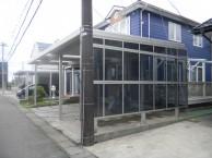 3台用折板カーポート 丸岡町