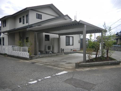 カーポート価格 TOEXカーポート 4本柱 坂井市