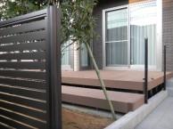 人工木材 ウッドデッキ価格 ウッドデッキの階段 福井市