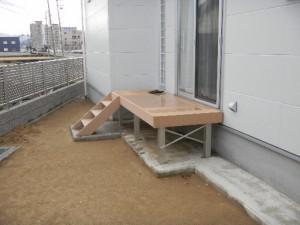 最安値 折板カーポート激安 4本柱 D様邸 鯖江市