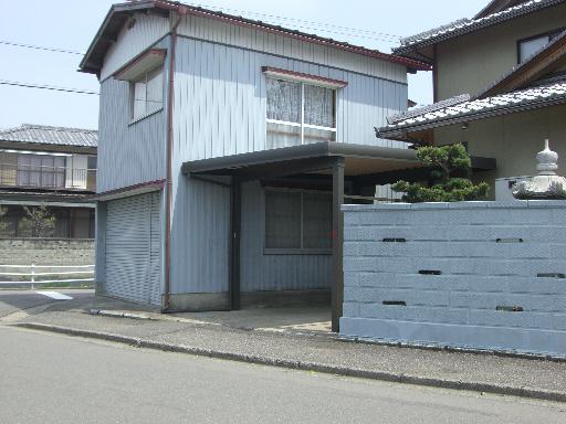 車1台用 積雪 折板カーポート 坂井市