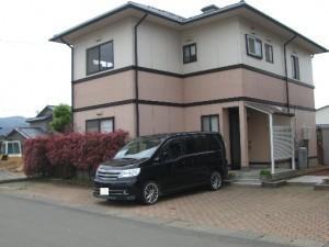 TOEX折板カーポート 玄関前 坂井市 N様邸