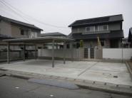 門扉、カーポート フェンス エクステリア 福井市