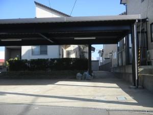 鉄骨カーポート 坂井市