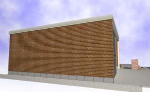 ご自宅の外壁と新規車庫の外壁を合わせる(案)