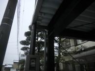 鉄鋼カーポート10m