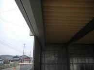 電動シャッター付ガレージ2台用