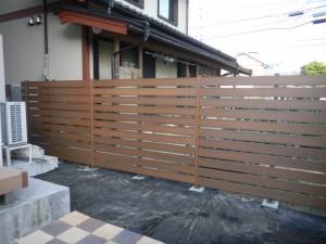 人工木材Bフェンス