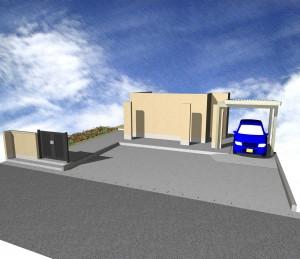 駐車場の拡張(案)