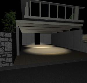 ライトアップ画像