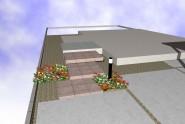 素敵な玄関先のステップイメージ 坂井市 K様邸