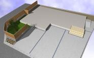 フェンスの種類や延長を検討し快適な庭づくり福井市 S様