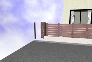 Bフェンス門扉