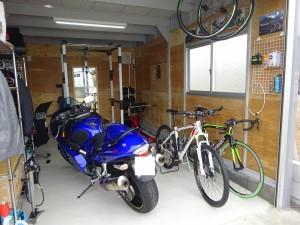 ガレージをおしゃれにリフォーム施工実績 福井市