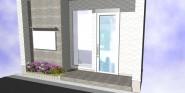 玄関前雨水対策(案)