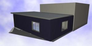 アルミ折板カーポート