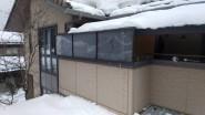 大雪によるバルコニーパネル修繕工事